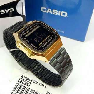 casio black n gold oem