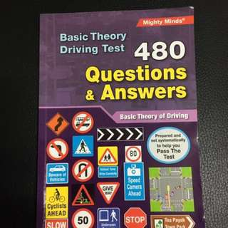 Basic Theory Driving Test 480 Q&A