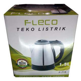 Teko Listrik Fleco 1,5L Kettle Electric