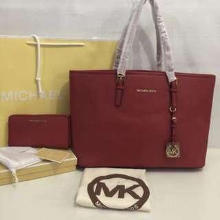 Mk saffiano bags