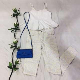 [SALE!!] H&M Light Floral Print Pants