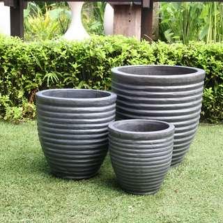 Carved Pots