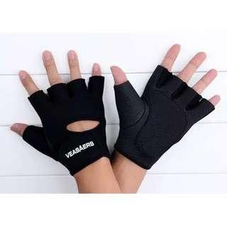 Sarung Tangan VEASAERS Setengah Jari Gloves Motor Gym