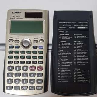 Financial Calculator FV-200V Casio