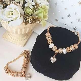 🚚 Adjustable Charm Bracelet