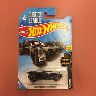 Hot Wheels Batman Batmobile Justice League JLA