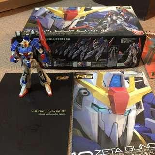 Real Grade (RG) - Zeta Gundam