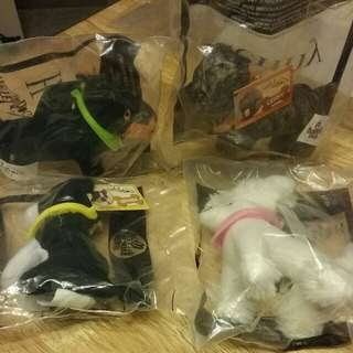 Mcdonalds 2008 hotel for dogs x4 happy meal toys