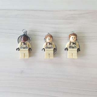 (In Stock) Lego Inspired Ghostbusters Key Chain