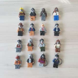 (In Stock) Lego Inspired Zombies Key Chain