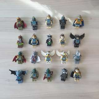 (In Stock) Lego Inspired Chima Key Chain