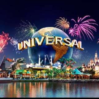 Universal studios Singapore ticket (Adult)