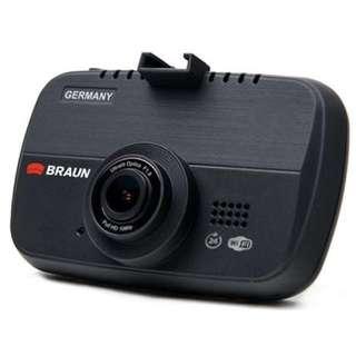 Braun i510WF前後鏡行車記錄儀