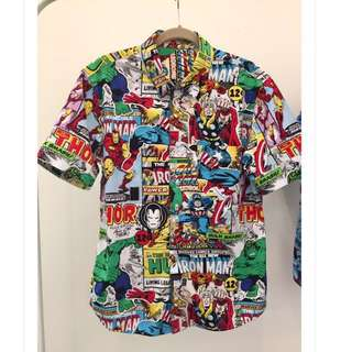 Handmade men's shirts - Marvel | Spider Man | Star Wars