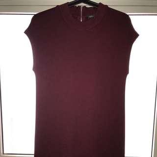 IORA wine Color dress