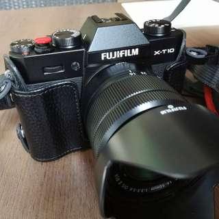 Fujifilm X-T10 + XC 16-50mm f3.5-5.6 OIS