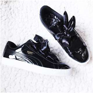 PUMA Basket Heart 蝴蝶結鞋款
