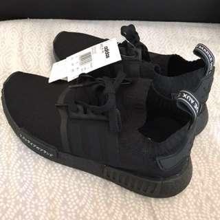 Black adidas NMD's R1 Pk