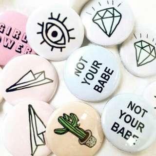 Customize Badges
