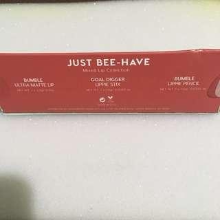 Just bee- have Colourpop Lip Trio