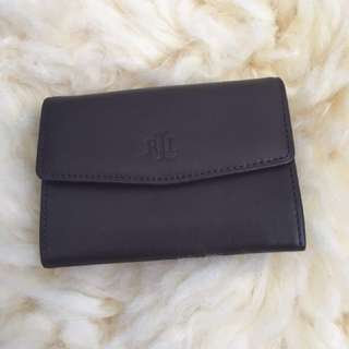 Authentic Ralph Lauren Leather Card Holder