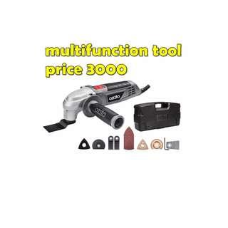 multifunction tool  kit and rotary tool kit