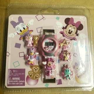 香港迪士尼樂園限定Duffy  手錶