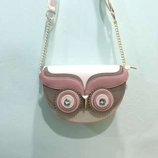 [ PRE ] OWL Chain Handbag