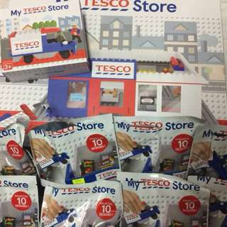 Tesco Lego Full Set