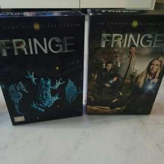 Fringe Season 1 and 2