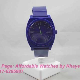 Authentic Pre-loved Purple NIXON Watch for Her