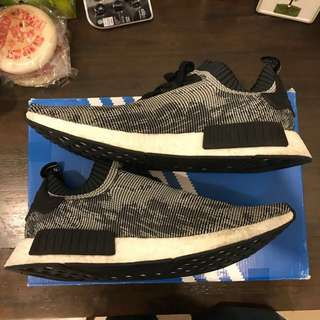 Authentic Adidas NMD R1 PK Glitch camo / oreo (Selling fast)