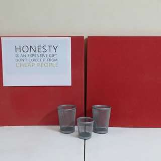 📌Soft (Notice) Board with 3 Ikea Stationery Metal Cup 📎✂📏