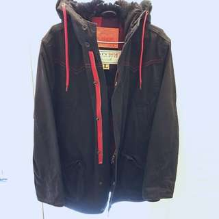 LEVI'S Red Tab 黑色大夾克