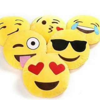 Emoji cute pillow