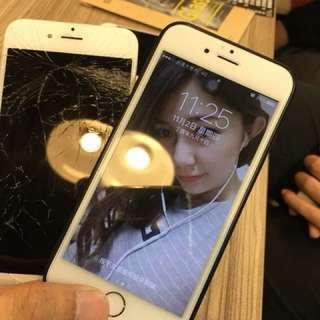 手機台南現場維修 另賣蘋果二手機 i6 iphone6 破螢幕