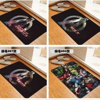 Superhero carpet