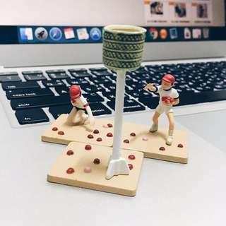 (二手)日本小學運動會食玩模型 扭蛋