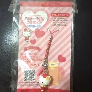 日本高島屋百貨公司x hello Kitty 限定版 售貨員手繩