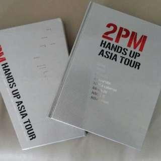 2PM Hands Up Asia Tour DVD + Book set