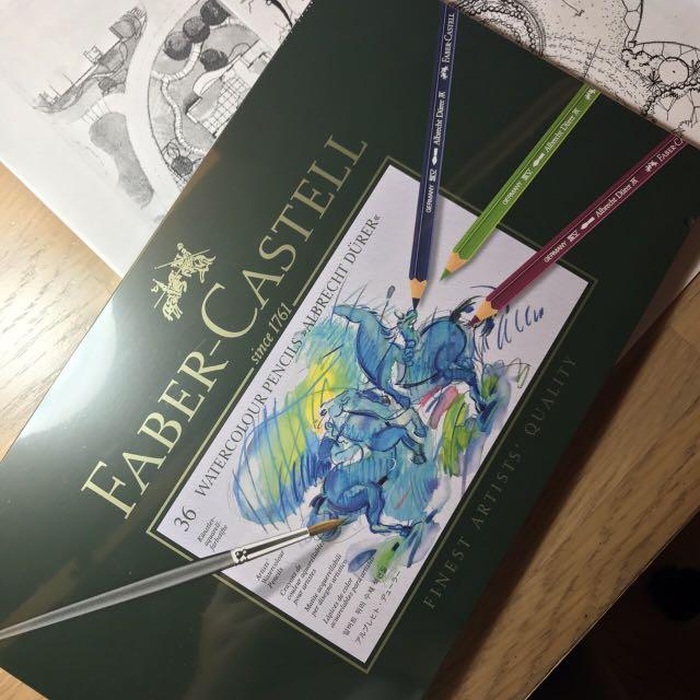 德國輝柏🇩🇪藝術家級專家級水彩色鉛筆36色