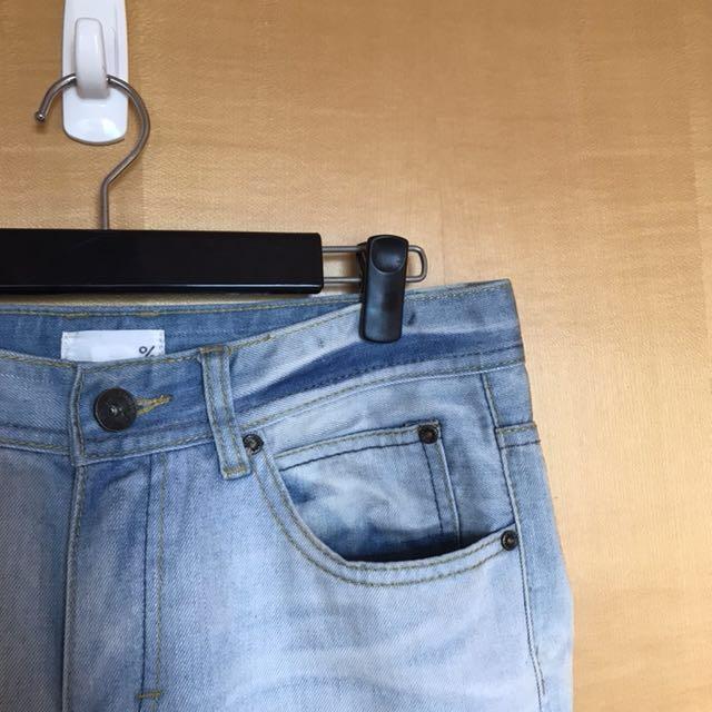 《清倉隨便賣-買到賺到》50%(正品)漂白牛仔褲