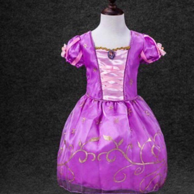 長髮公主洋裝