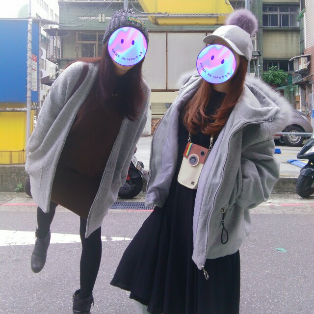 (右)外套
