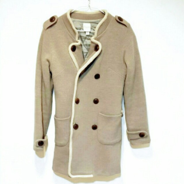 韓版排釦外套