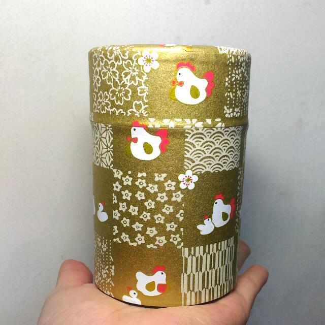 收納空罐 金色 實體美