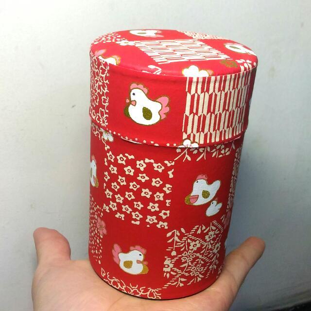 收納空罐 紅色 實體美