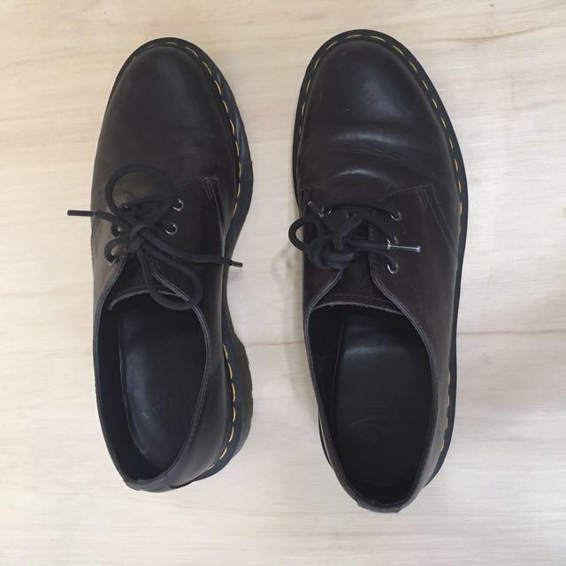日本購入 Dr.martens 馬汀大夫 限量版 UK7 41 vintage 皮鞋 red wing