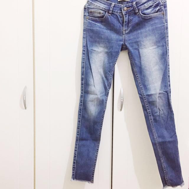 低腰修身牛仔褲 s號 #雙十一女裝出清