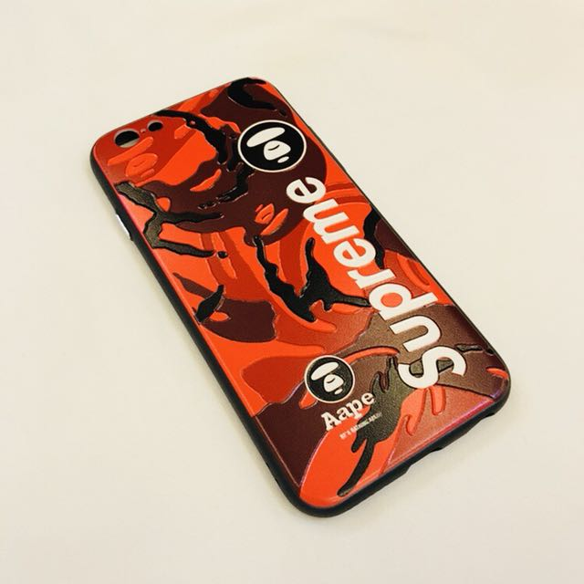 buy online e42f8 16013 🆕 Supreme Bathing Ape Iphone Case